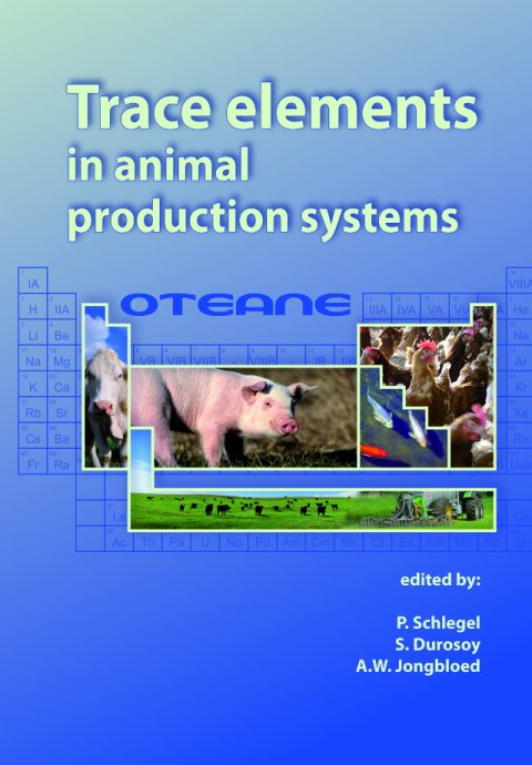 Trace Elements In Animal Production systems
