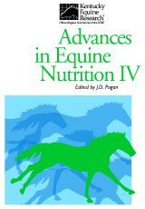 Advances in Equine Nutrition - IV by Dr JD Pagan (Ed)