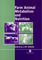 Farm Animal Metabolism and Nutrition by J.P.F. DMello