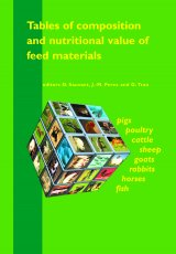 Tables of Composition and Nutritional Value of Feed Materials by D. Sauvant,J.-M. Perez, G. Tran