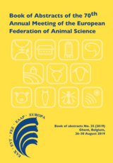 Book of Abstracts of the 70th Annual Meeting of the European Federation of Animal Science by Scientific Committee